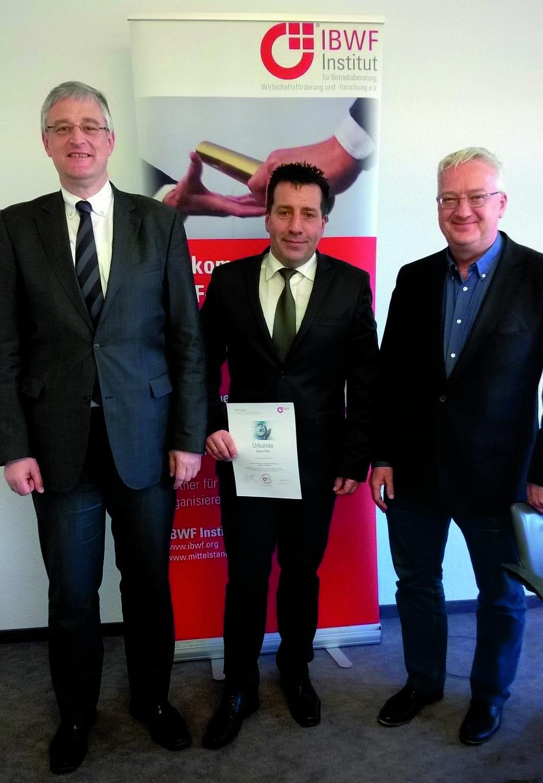IBWF Zertifizierung Swen Otto
